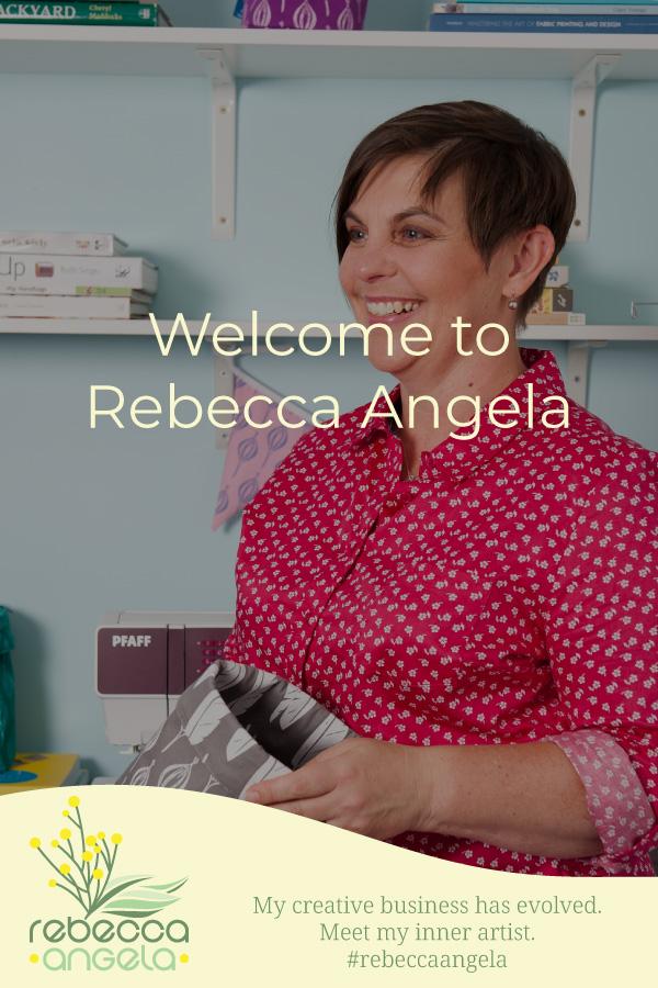 Welcome To Rebecca Angela Pinterest Image