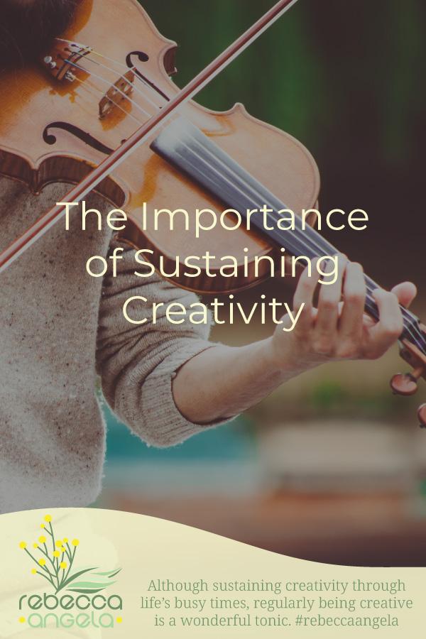 Importance of Sustaining Creativity Pinterest Image