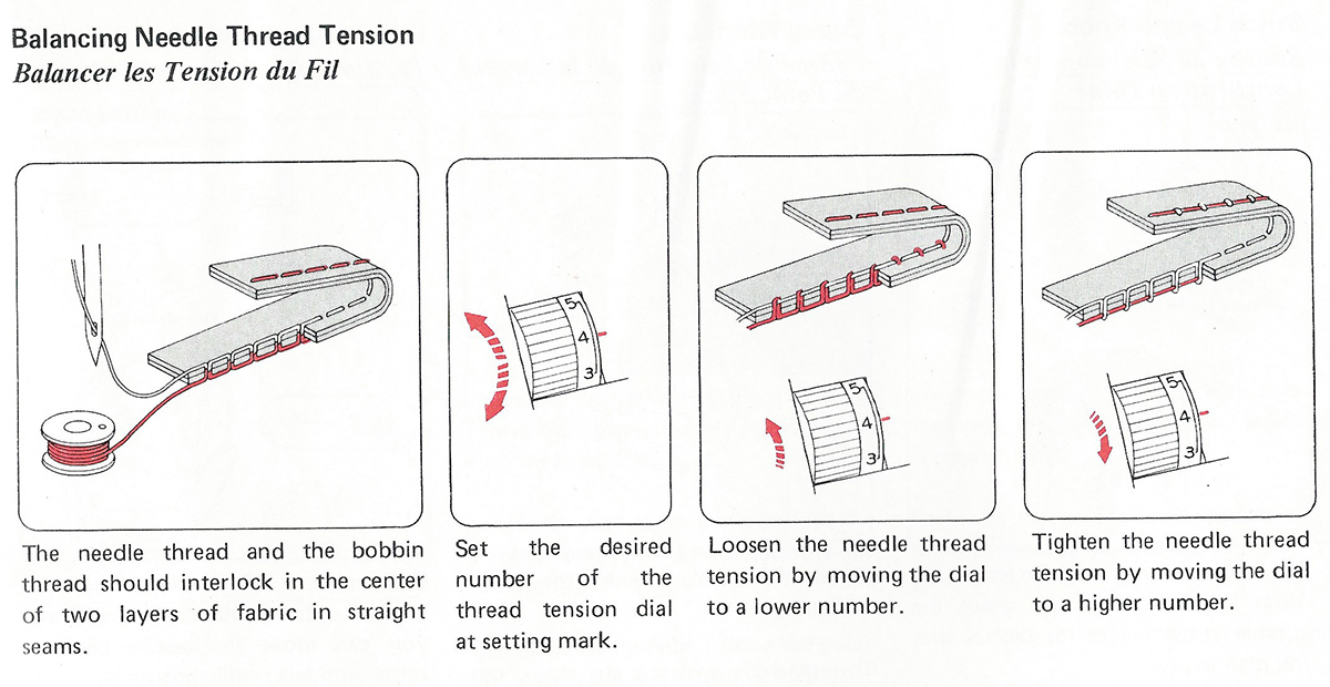 Stitch Tension Adjustment Guide
