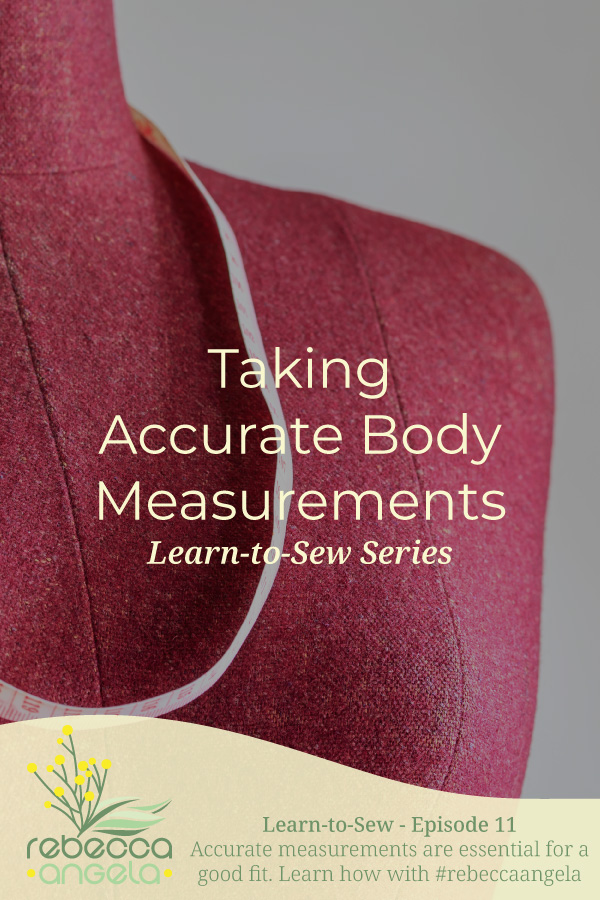 Taking Accurate Body Measurements Pinterest Image