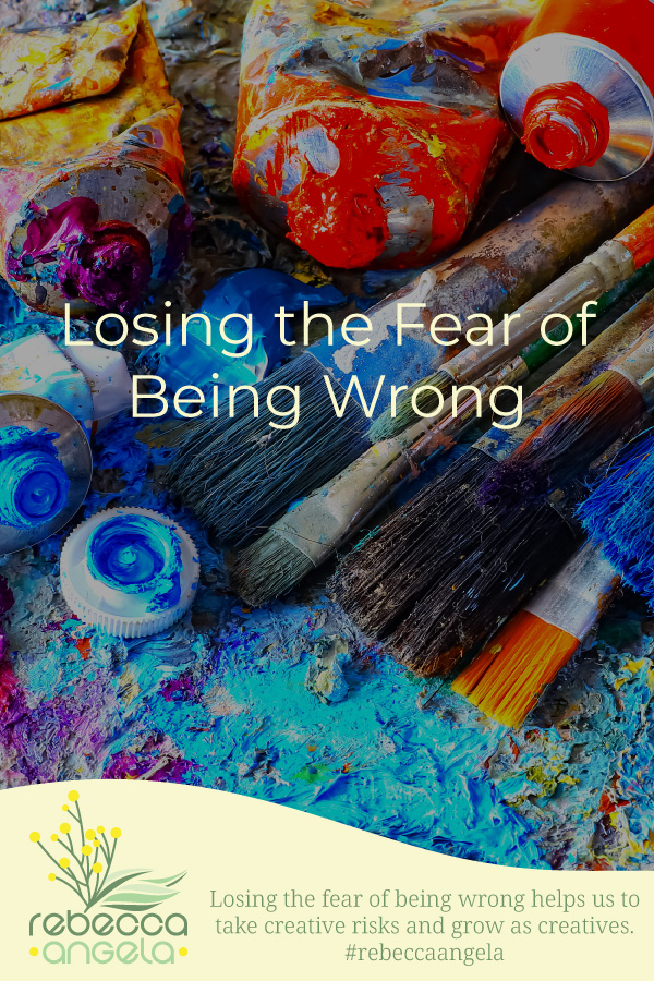 Losing the Fear of Being Wrong Pinterest Image